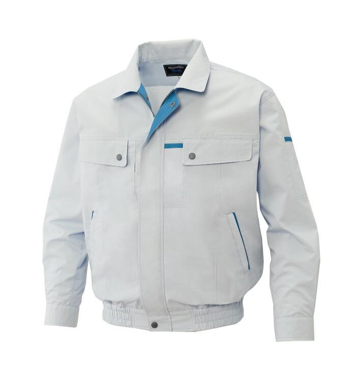 KU90450 長袖ブルゾン(春夏用)空調風神服【バッテリー・ファン・コードは別売り】