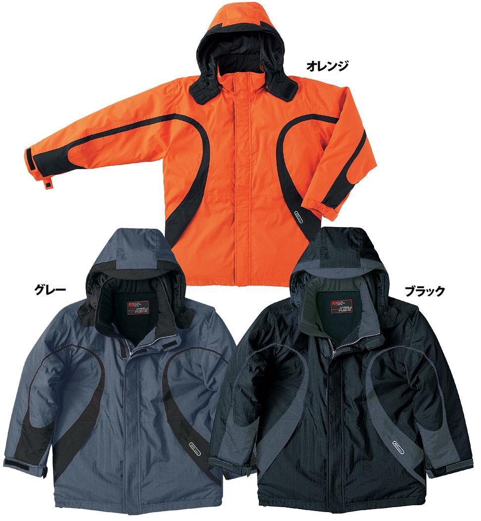 AT717 透湿防水防寒コート(秋冬用)【3L/4L対応】【大きいサイズ対応】