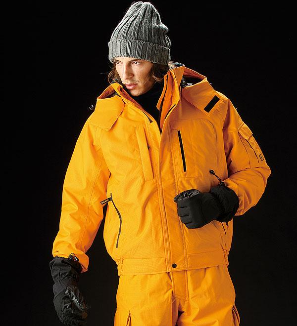 防寒ワークウェア>防寒服>ビビッドカラーの透湿防水ウインターウェア