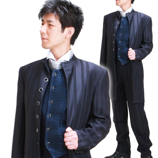 45696efe546f2 タキシード レンタル ロングタキシード 9点フルセットレンタル 新品シャツプレゼント 二次会 パーティー ブランド衣装