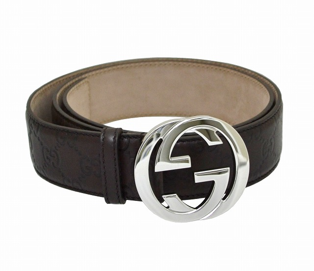 2cbddcca352 italia-na  114984 2019 gucci belt GUCCI BELT AA61N GG type push calf ...