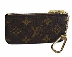 【新品】【ルイヴィトン モノグラム ポシェット・クレ】 LOUIS VUITTON 小銭入兼用キーケース M62650 【Luxury Brand Selection】