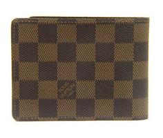 【Fashion coupon】対象ショップ限定1000~30000OFFクーポンプレゼント20日~21日【ルイヴィトン ダミエ ポルトフォイユ・ミュルティプル】 LOUIS VUITTON 二つ折りXカード財布  N60895【Luxury Brand Selection】