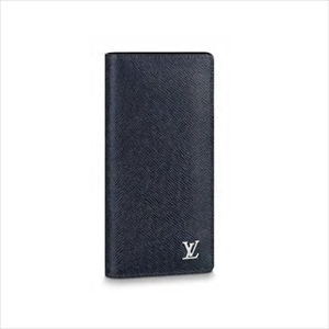 LOUIS VUITTON ルイヴィトンポルトフォイユ・ブラザ タイガ / ネイビー M30292 メンズ財布【Luxury Brand Selection】