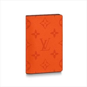 LOUIS VUITTON ルイヴィトンオーガナイザー・ドゥ ポッシュ タイガ / ボルケーノオレンジ M30437 カードケース【Luxury Brand Selection】
