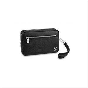 LOUIS VUITTON ルイヴィトンポシェット・カサイ タイガ / ノワール M30441 メンズセカンドバッグ【Luxury Brand Selection】