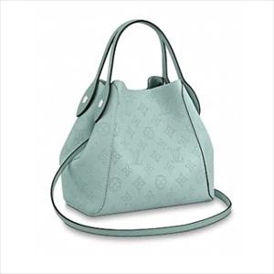 LOUIS VUITTON ルイヴィトンヒナ PM / ヴェール ラグーン M55905 トートバッグ【Luxury Brand Selection】