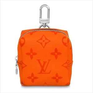 LOUIS VUITTON ルイヴィトンポルト クレ・ポーチ タイガ / オランジュ M69308 ポーチ【Luxury Brand Selection】