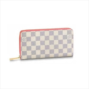 LOUIS VUITTON ルイヴィトンジッピー・ウォレット ダミエ・アズール / ローズパパイア N60373 長財布【Luxury Brand Selection】