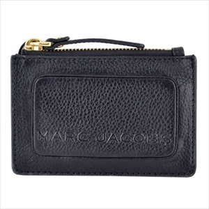 MARC JACOBS マークジェイコブスM0015109-001 ザ テクスチャード ボックス パスケース・キーリング付 コインケース The Textured Box Top Zip Multi Wallet 【Luxury Brand Selection】