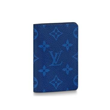 【新品】【ルイヴィトン オーガナイザー・ドゥポッシュ タイガラマ/ コバルト 】 LOUIS VUITTON M30301 カードケース【Luxury Brand Selection】