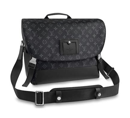 【新品】【ルイヴィトン メッセンジャー・ヴォワヤージュ MM エクリプス 】 LOUIS VUITTON M40510 メンズショルダーバッグ【Luxury Brand Selection】