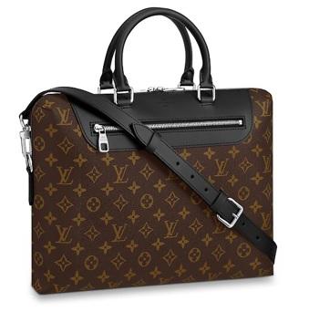【ルイヴィトン PDJ NM マカサー】 LOUIS VUITTON M54019 ブリーフケース【Luxury Brand Selection】