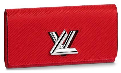 【ルイヴィトン ポルトフォイユ・ツイスト エピ/ コクリコ 】 LOUIS VUITTON M61179 長財布【Luxury Brand Selection】
