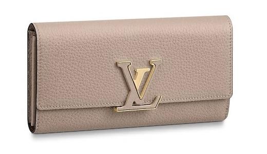 【新品】【ルイヴィトン ポルトフォイユ・カプシーヌ / ガレ 】 LOUIS VUITTON M61249 財布【Luxury Brand Selection】