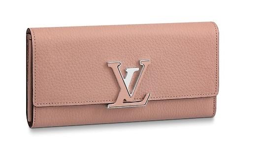 【新品】【ルイヴィトン ポルトフォイユ・カプシーヌ / マグノリア 】 LOUIS VUITTON M61250 財布【Luxury Brand Selection】
