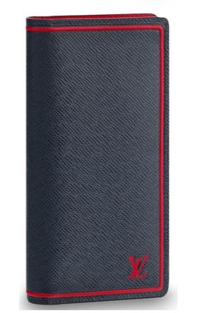 【新品】【ルイヴィトン ポルトフォイユ・ブラザ タイガ/ ブルーマリーヌ 】 LOUIS VUITTON M63434 メンズ長財布【Luxury Brand Selection】