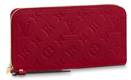 【新品】【ルイヴィトン ジッピーウォレット アンプラント/ スカーレット 】 LOUIS VUITTON M63691 長財布【Luxury Brand Selection】