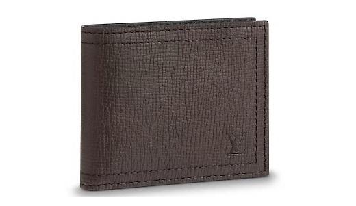 【ルイヴィトン ポルトフォイユ・コンパクト / マロン 】 LOUIS VUITTON M64136 メンズ財布【Luxury Brand Selection】