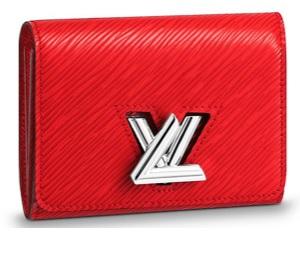 【ルイヴィトン ポルトフォイユ・ツイスト コンパクト エピ/ コクリコ 】 LOUIS VUITTON M64413 三折財布【Luxury Brand Selection】