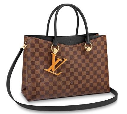 【新品】【ルイヴィトン LVリバーサイド ダミエ/ ノワール 】 LOUIS VUITTON N40050 2WAYバッグ【Luxury Brand Selection】