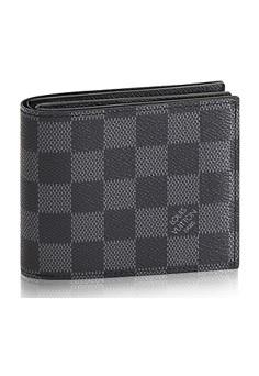 【新品】【ルイヴィトン ポルトフォイユ・アメリゴNM グラフィット】 LOUIS VUITTON N60053 メンズ財布【Luxury Brand Selection】