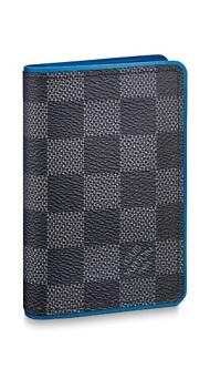 【ルイヴィトン オーガナイザー・ドゥ ポッシュ グラフィット/ ブルー 】 LOUIS VUITTON N64432 メンズカードケース【Luxury Brand Selection】