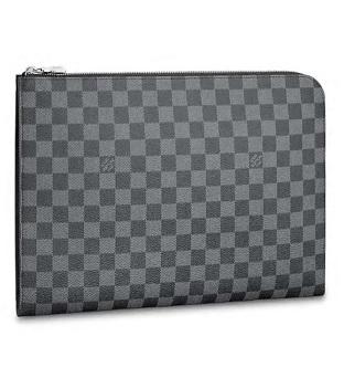 【ルイヴィトン ポシェット・ジュール GM NM グラフィット】 LOUIS VUITTON N64437 メンズバッグ【Luxury Brand Selection】