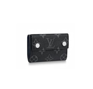 【新品】【ルイヴィトン ディスカバリー・コンパクトウォレット エクリプス】 LOUIS VUITTON M67630 メンズ財布【Luxury Brand Selection】