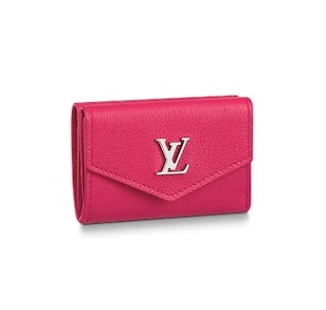 【ルイヴィトン ポルトフォイユ・ロックミニ / ホットピンク 】 LOUIS VUITTON M67858 財布【Luxury Brand Selection】