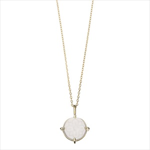 Marea rich マレア リッチ17KJ-04 K10×ストーン シーグラス ネックレス ペンダント Natural Seaglass Necklace 【Luxury Brand Selection】