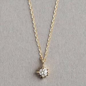 Marea rich マレア リッチ18KJ-01 K10×ダイアモンド ネックレス ペンダント Precious Collection 【Luxury Brand Selection】