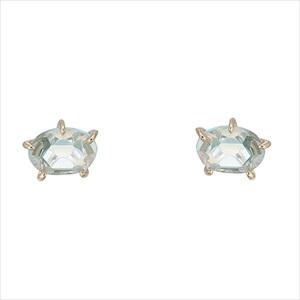 Marea rich マレア リッチ17KJ-03 K10×ストーン スターフィッシュ スタッド ピアス Natural Starfish Pierced Earrings 【Luxury Brand Selection】