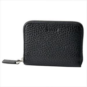 BALLY バリーMEBIOT 780 6202686 ラウンドファスナー カードケース 名刺入れ 【Luxury Brand Selection】