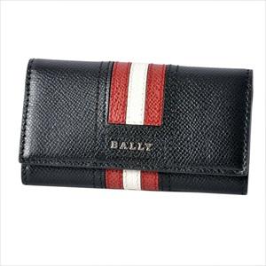 BALLY バリーTALTOS.LT 10 6218043 バリーストライプ 4連 キーケース 【Luxury Brand Selection】