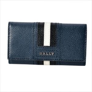 BALLY バリーTALTOS.LT 17 6218045 バリーストライプ 4連 キーケース 【Luxury Brand Selection】