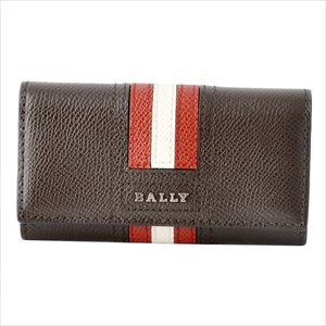 BALLY バリーTALTOS.LT 21 6221887 バリーストライプ 4連 キーケース 【Luxury Brand Selection】