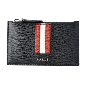BALLY バリーTENLEY.LT 10 6221811 バリーストライプ 小銭入れ付 カードケース 【Luxury Brand Selection】