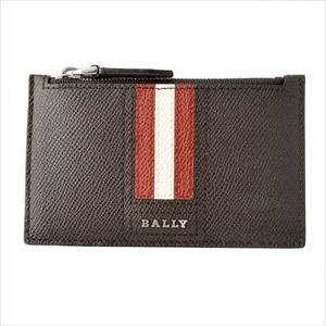 BALLY バリーTENLEY.LT 21 6221813 バリーストライプ 小銭入れ付 カードケース 【Luxury Brand Selection】