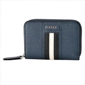 BALLY バリーTIVY.LT 17 6221824 バリーストライプ コインケース 小銭入れ カード入れ 【Luxury Brand Selection】