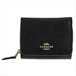 COACH OUTLET コーチ F37968/IMBLK/1 三つ折り財布 【Luxury Brand Selection】