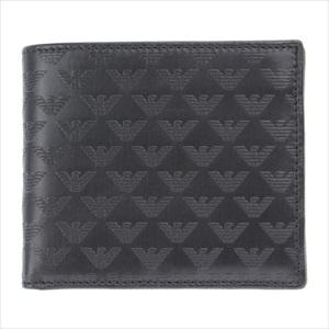 EMPORIO ARMANI エンポリオ・アルマーニ YEM122-YC043 二つ折り財布 【Luxury Brand Selection】
