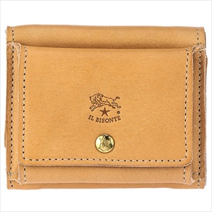 IL BISONTE イルビゾンテC0940/120 三つ折り財布 【Luxury Brand Selection】