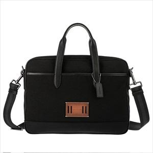 COACH コーチF31277/QB/BK/1 メンズ ブリーフケース 【Luxury Brand Selection】