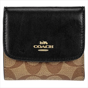 COACH コーチF87589/IMCBI/1 三つ折り財布 【Luxury Brand Selection】