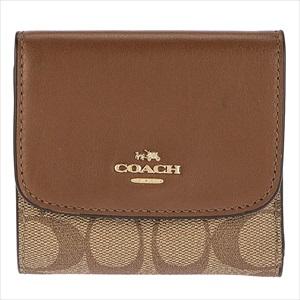 COACH コーチF87589/IME74/1 三つ折り財布 【Luxury Brand Selection】