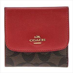 COACH コーチF87589/IML72/1 三つ折り財布 【Luxury Brand Selection】