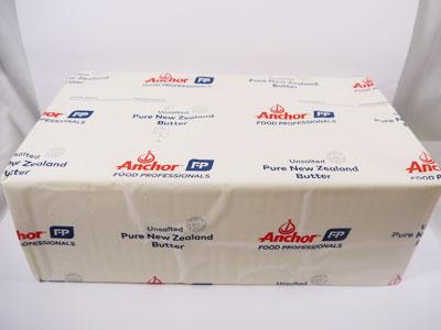 無塩バター フォンテラ社 グラスフェッドバター 業務用5kg ニュージーランド産