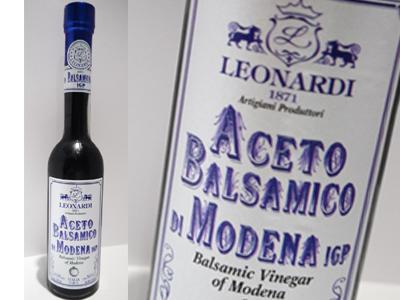 お肉 お魚は勿論 フルーツやアイスクリームにも 爆買いセール レオナルディ 6年熟成 爆安プライス ブルーラベル 250ml バルサミコ モデナ産