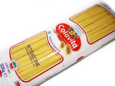 もちもち食感のパスタ コラヴィータ パスタ 500g イタリア産 フェットゥチーネ 出群 返品交換不可